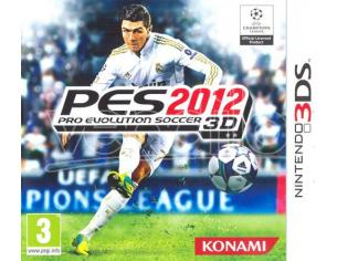 PRO EVOLUTION SOCCER 2012 SPORTIVO - NINTENDO 3DS