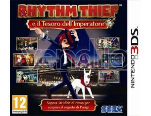 RHYTHM THIEF E IL TESORO DELL'IMPERATORE AZIONE - NINTENDO 3DS