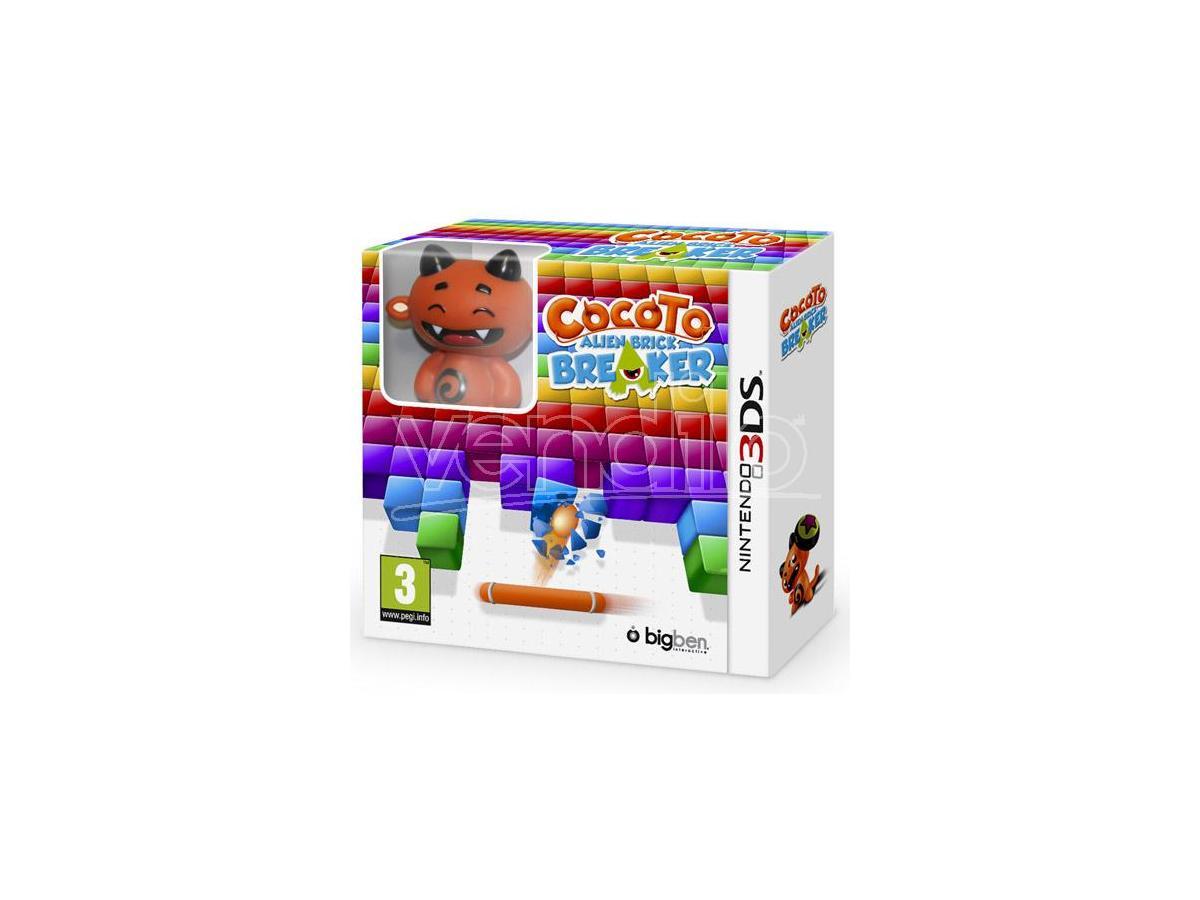 COCOTO ALIEN BRICK BREAKER ARCADE - NINTENDO 3DS