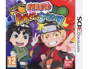 NARUTO POWERFUL SHIPPUDEN PICCHIADURO - NINTENDO 3DS
