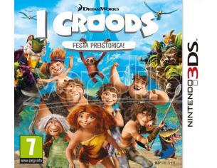 I CROODS: FESTA PREISTORICA PARTY GAME - NINTENDO 3DS