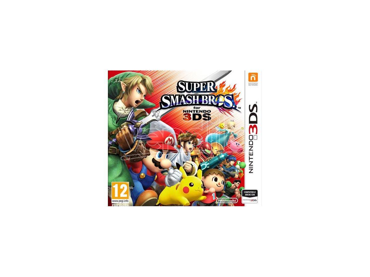SUPER SMASH BROS. PICCHIADURO - NINTENDO 3DS