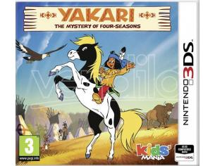 YAKARI: THE MYSTERY OF FOUR-SEASONS AVVENTURA - NINTENDO 3DS