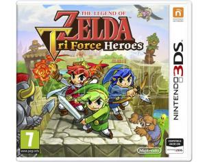 THE LEGEND OF ZELDA: TRI FORCE HEROES GIOCO DI RUOLO (RPG) - NINTENDO 3DS