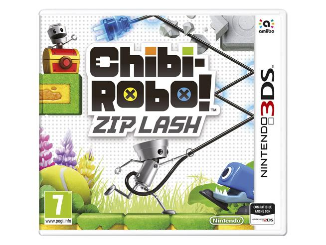CHIBI-ROBO! ZIP LASH PLATFORM - NINTENDO 3DS