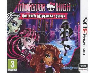 MONSTER HIGH: NUOVA MOSTRAMICA A SCUOLA AVVENTURA - NINTENDO 3DS