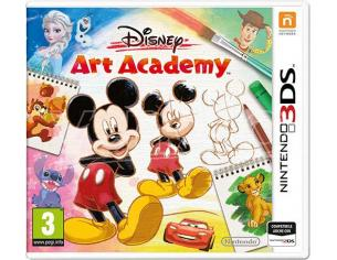 DISNEY ART ACADEMY EDUCATIVO - NINTENDO 3DS