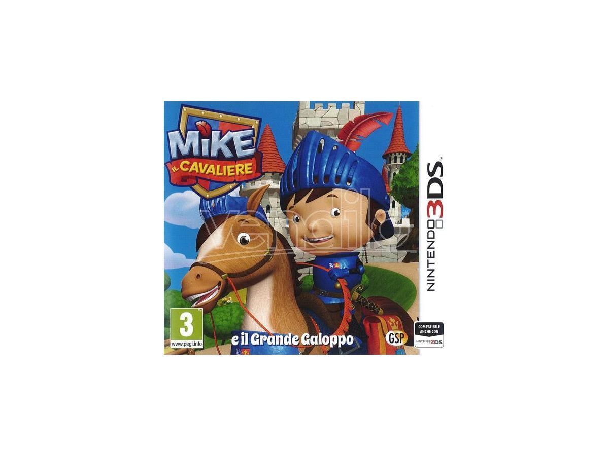 MIKE: IL CAVALIERE PUZZLE - NINTENDO 3DS