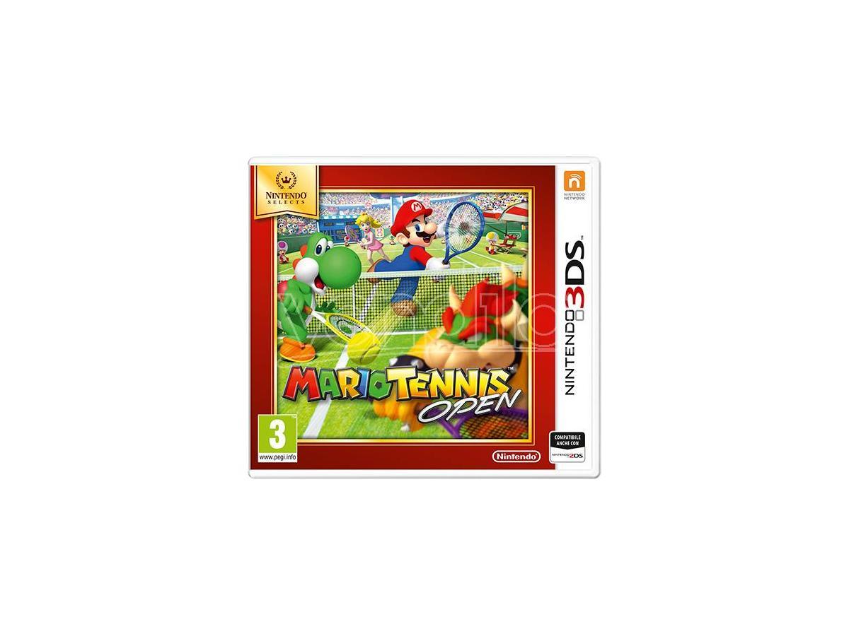 MARIO TENNIS OPEN SELECT SPORTIVO - NINTENDO 3DS