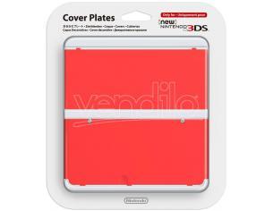 NINTENDO NEW 3DS COVER ROSSO CUSTODIE/PROTEZIONE