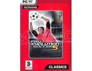 PRO EVOLUTION SOCCER 5 SPORTIVO - GIOCHI PC