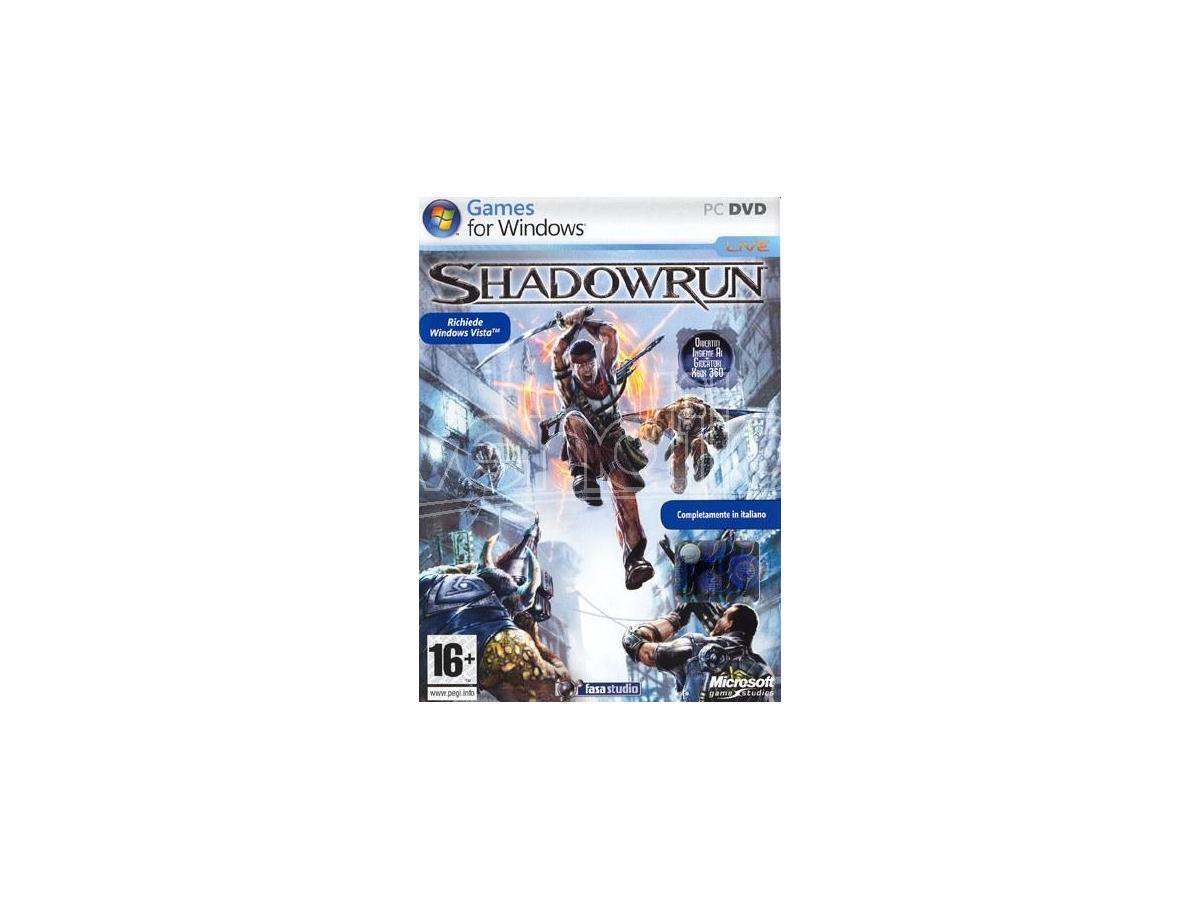 SHADOWRUN EDIZIONE WINDOWS VISTA SPARATUTTO - GIOCHI PC