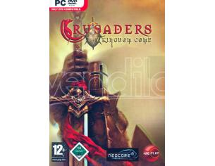 CRUSADERS - THE KINGDOM COME STRATEGICO GIOCHI PC