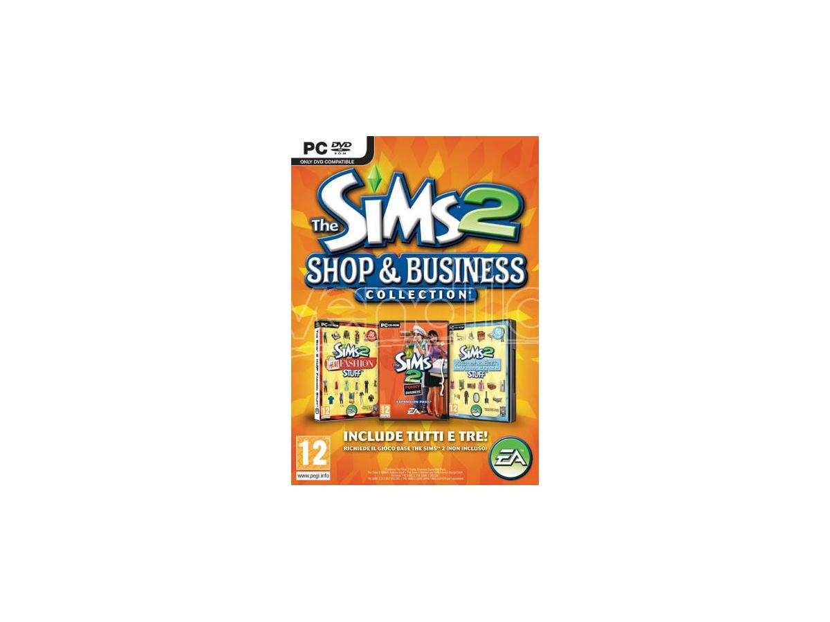 THE SIMS 2 SHOP & BUSINESS COLLECTION SIMULAZIONE - GIOCHI PC