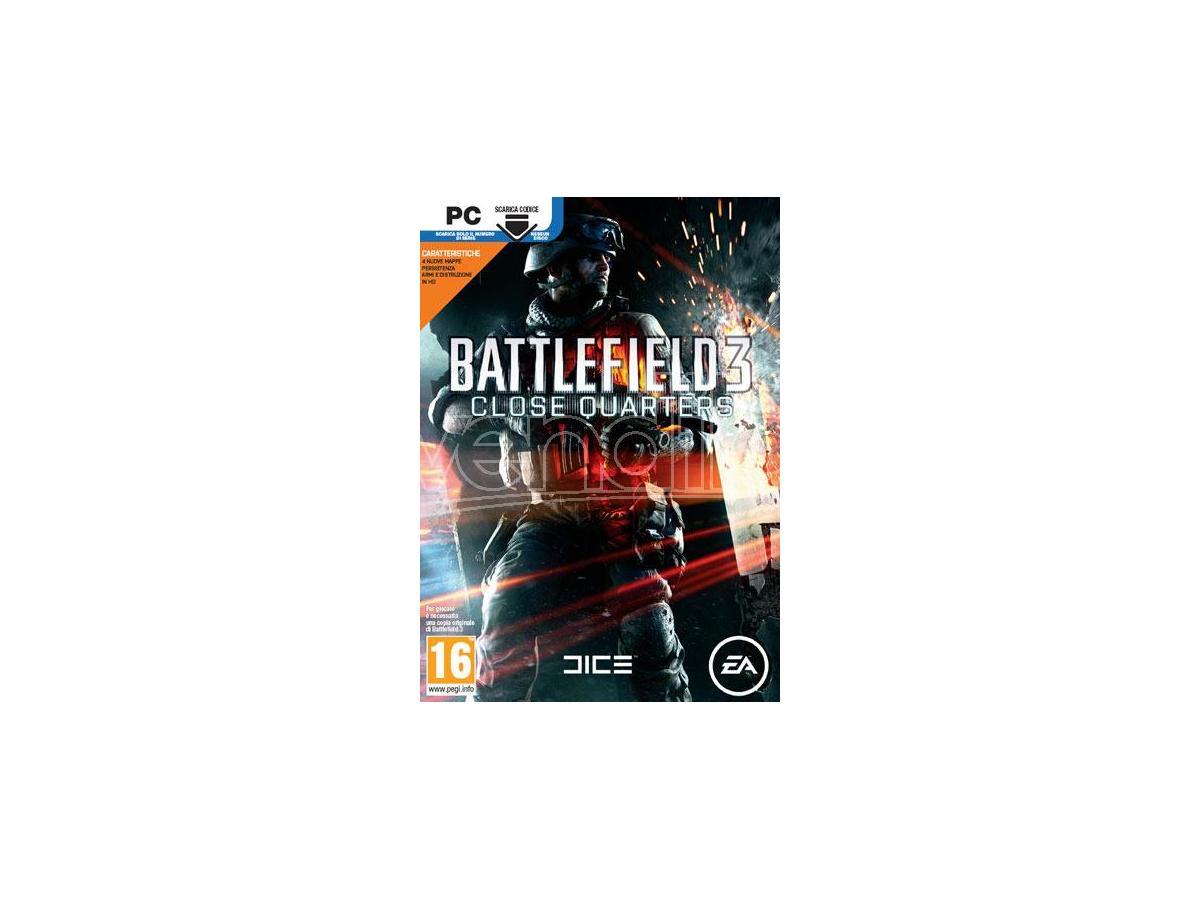 BATTLEFIELD 3 CLOSE QUARTERS SPARATUTTO - GIOCHI PC