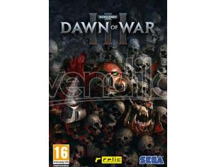 WARHAMMER 40.000: DAWN OF WAR 3 STRATEGICO - GIOCHI PC