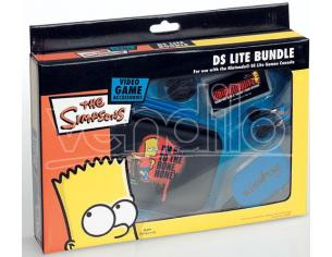 NDS LITE BUNDLE THE SIMPSONS BART PACK