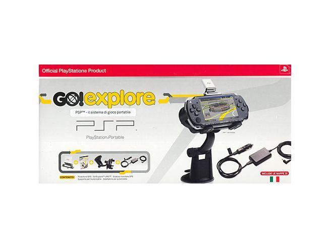 PSP SONY GO! EXPLORE +RIC.GPS+CAR ADAPT. SW MULTIMEDIALE