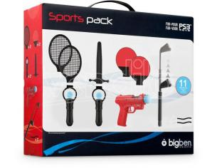 BB MOVE PACK 11 ACCESSORI SPORT BIGBEN PS3