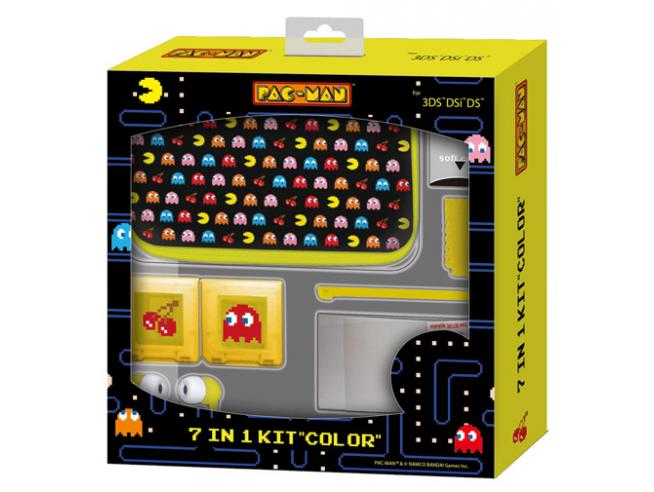 KIT PACMAN 7 IN 1 3DS PACK