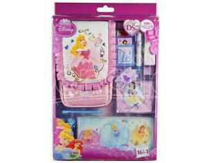 KIT 16 ACC.DISNEY PRINCESS DREAMS ALL DS CUSTODIE/PROTEZIONE