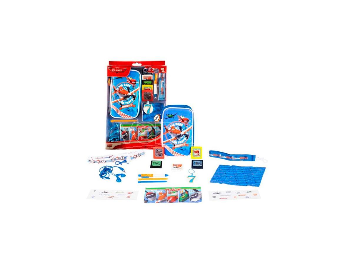 KIT 16 ACCESSORI PLANES ALL DS CUSTODIE/PROTEZIONE
