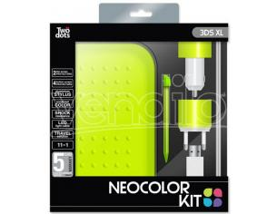 TWO DOTS KIT COLOR GREEN 3DS XL PACK