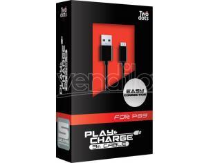 TWO DOTS CAVO ALIMENT USB-MINI 3MT PS3 CAVETTERIA