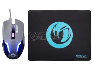 NACON GAMING MOUSE GM-105+MOUSEPAD PC E TASTIERE