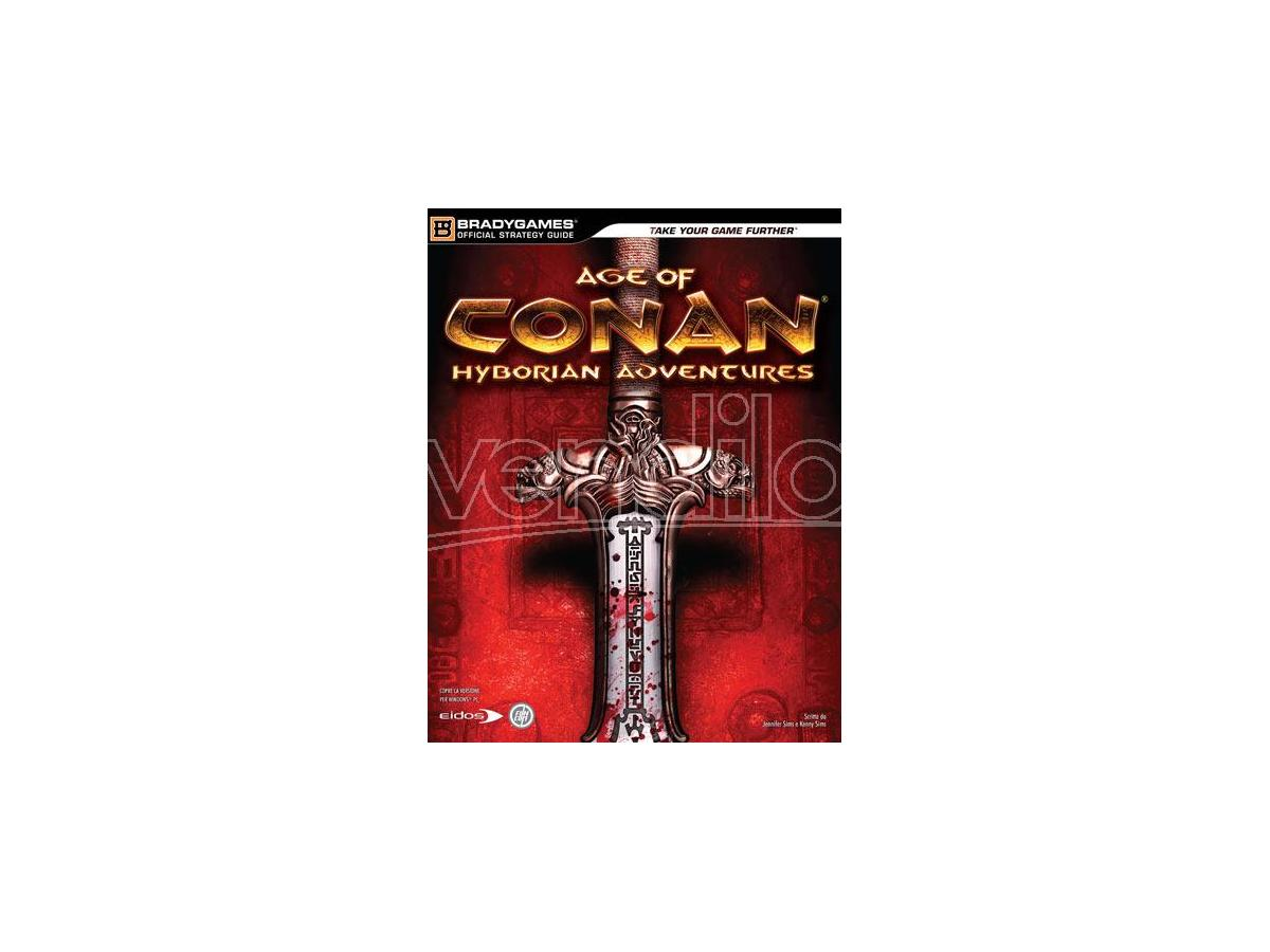 AGE OF CONAN HYBORIAN ADVENTURES - GUIDA GUIDE STRATEGICHE GUIDE/LIBRI