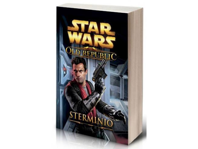 STAR WARS STERMINIO -THE OLD REPUBLIC 4 LIBRI/ROMANZI - GUIDE/LIBRI