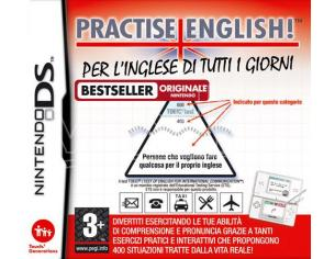 PRACTISE ENGLISH! PER L'INGLESE DI TUTTI EDUCATIVO - NINTENDO DS