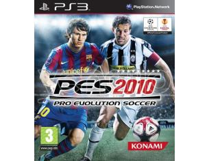 PRO EVOLUTION SOCCER 2010 SPORTIVO - PLAYSTATION 3