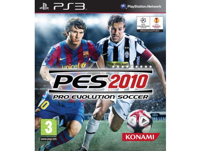 PRO EVOLUTION SOCCER 2010 SPORTIVO - PLAYSTATION 3