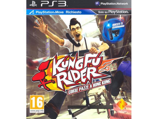 KUNG FU RIDER - CORSE PAZZE A HK GUIDA/RACING PLAYSTATION 3