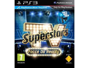 TV SUPERSTARS FACCE DA REALITY SOCIAL GAMES - PLAYSTATION 3