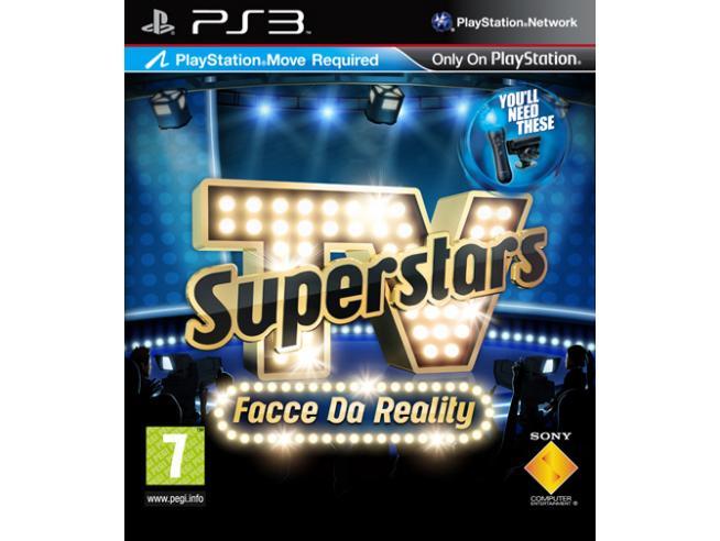 TV SUPERSTARS FACCE DA REALITY SOCIAL GAMES - PLAYSTATION 3