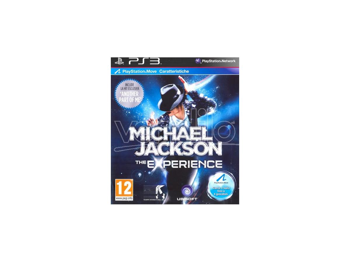 MICHAEL JACKSON THE EXPERIENCE D1 VERS. PARTY GAME - PLAYSTATION 3