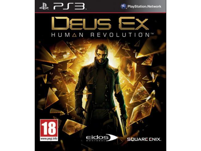 DEUS EX: HUMAN REVOLUTION SPARATUTTO - PLAYSTATION 3