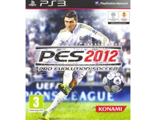PRO EVOLUTION SOCCER 2012 SPORTIVO - PLAYSTATION 3