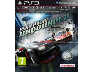 RIDGE RACER UNBOUNDED LIMITED EDITION GUIDA/RACING - PLAYSTATION 3