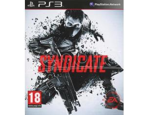 SYNDICATE AZIONE - PLAYSTATION 3