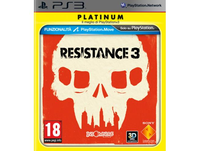 RESISTANCE 3 PLATINUM SPARATUTTO - PLAYSTATION