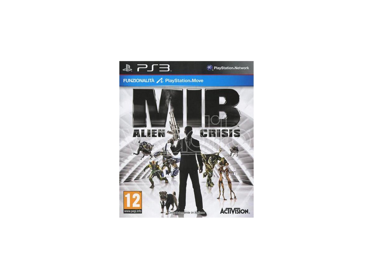 MEN IN BLACK: ALIEN CRISIS AZIONE - PLAYSTATION 3