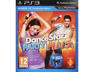 DANCESTAR PARTY HITS GAME - PLAYSTATION 3