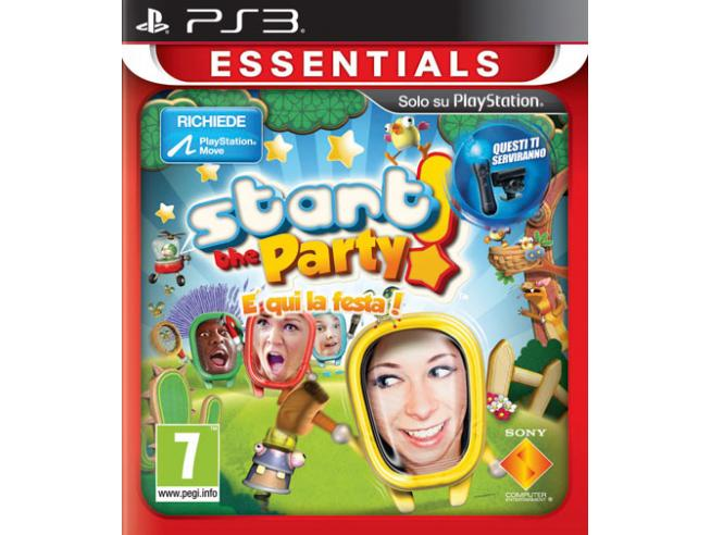 ESSENTIALS START THE PARTY GAME - PLAYSTATION 3