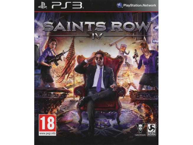SAINTS ROW IV AZIONE - PLAYSTATION 3