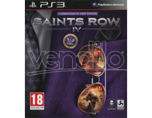 SAINTS ROW IV COMMANDER IN CHIEF ED. AZIONE - PLAYSTATION 3