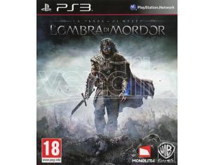 LA TERRA DI MEZZO - L'OMBRA MORDOR GIOCO RUOLO (RPG) PLAYSTATION 3
