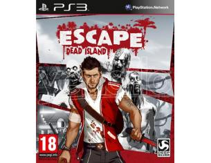 ESCAPE DEAD ISLAND AZIONE - PLAYSTATION 3